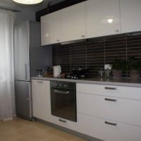 прямая кухня фото 16