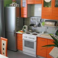 прямая кухня фото 24