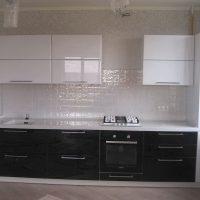 прямая кухня фото 27