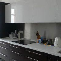 прямая кухня фото 28