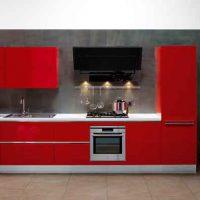 прямая кухня фото 36