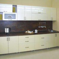 прямая кухня фото 39
