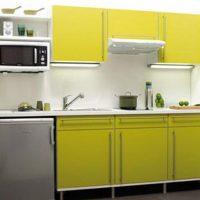 прямая кухня фото 43