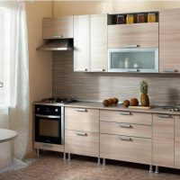 прямая кухня фото 45