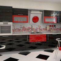 прямая кухня фото 46