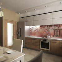 прямая кухня фото 49