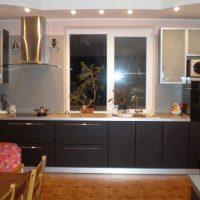 прямая кухня фото 53
