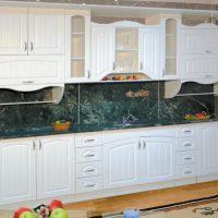 прямая кухня фото 56