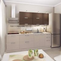 прямая кухня фото 59