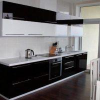 прямая кухня фото 73