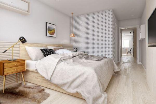 спальня в скандинавском стиле фото 10