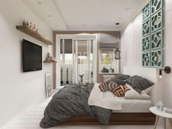 спальня в скандинавском стиле фото 11