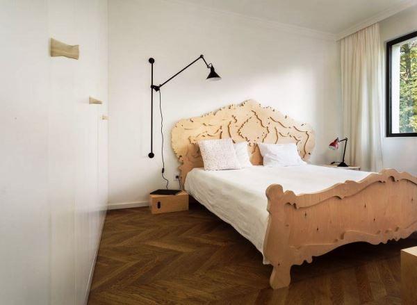 спальня в скандинавском стиле фото 13