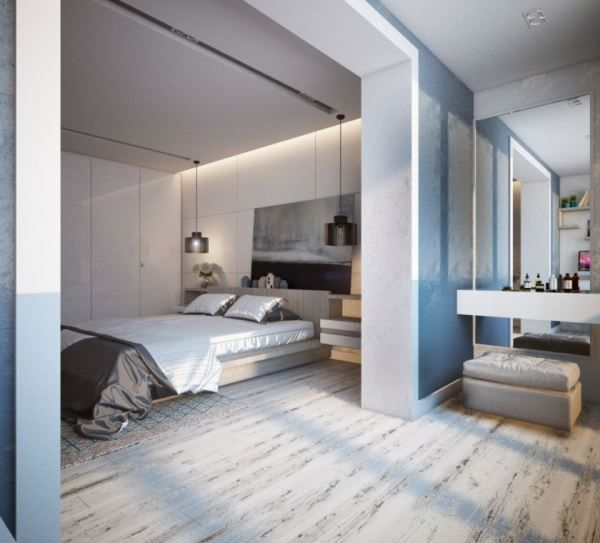 спальня в скандинавском стиле фото 14