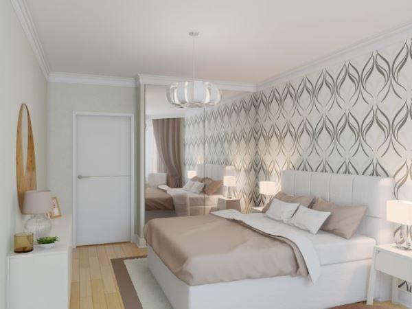спальня в скандинавском стиле фото 16