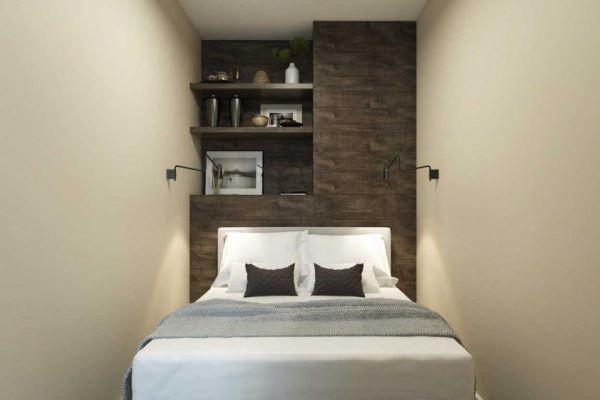 спальня в скандинавском стиле фото 17