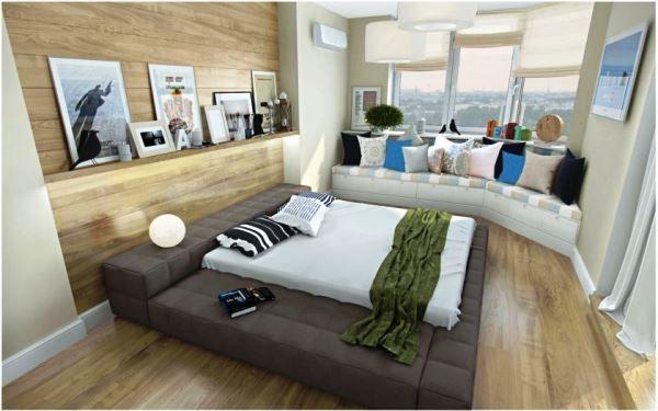 спальня в скандинавском стиле фото 2