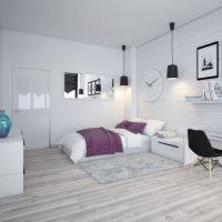 спальня в скандинавском стиле фото 20
