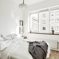 спальня в скандинавском стиле фото 21