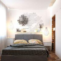 спальня в скандинавском стиле фото 31