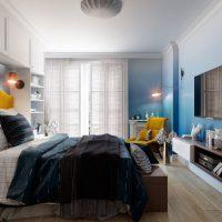 спальня в скандинавском стиле фото 36