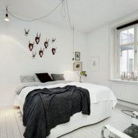 спальня в скандинавском стиле фото 48