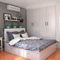 спальня в скандинавском стиле фото 64