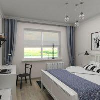 спальня в скандинавском стиле фото 67