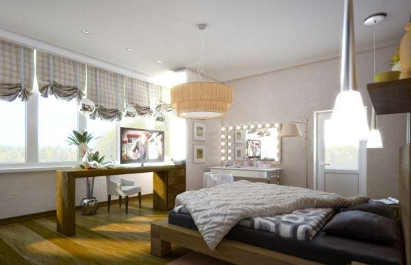 спальня в скандинавском стиле фото 7