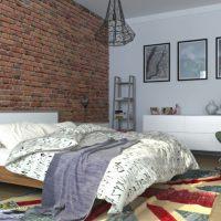 спальня в скандинавском стиле фото 70