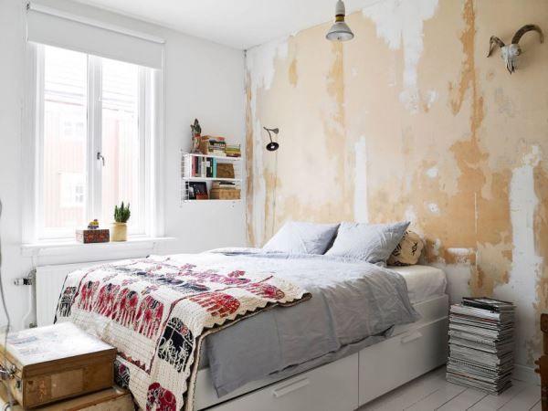 спальня в скандинавском стиле фото 8