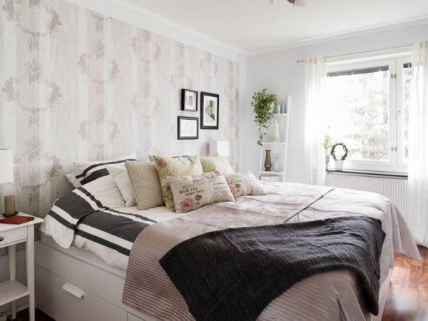 спальня в скандинавском стиле фото 9