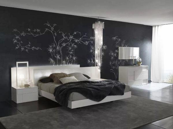 спальня в стиле модерн фото 2
