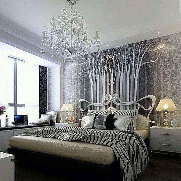 дизайн спальни модерн фото
