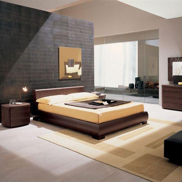 стиль модерн в интерьере спальни фото
