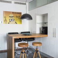 барная стойка в гостиной фото 25