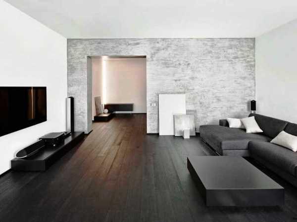 бело черный зал фото