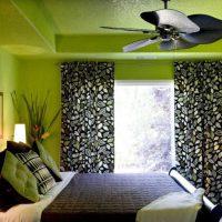 дизайн зеленой спальни фото 10