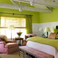 дизайн зеленой спальни фото 22