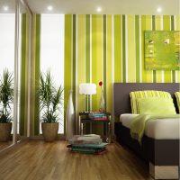 дизайн зеленой спальни фото 28