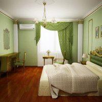 дизайн зеленой спальни фото 36