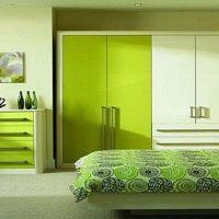 дизайн зеленой спальни фото 41