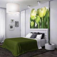 дизайн зеленой спальни фото 43