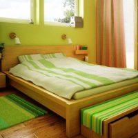 дизайн зеленой спальни фото 48
