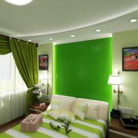 дизайн зеленой спальни фото 53