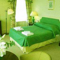 дизайн зеленой спальни фото 55