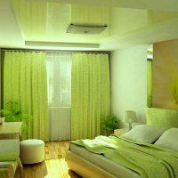 дизайн зеленой спальни фото 56