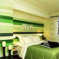 дизайн зеленой спальни фото 7