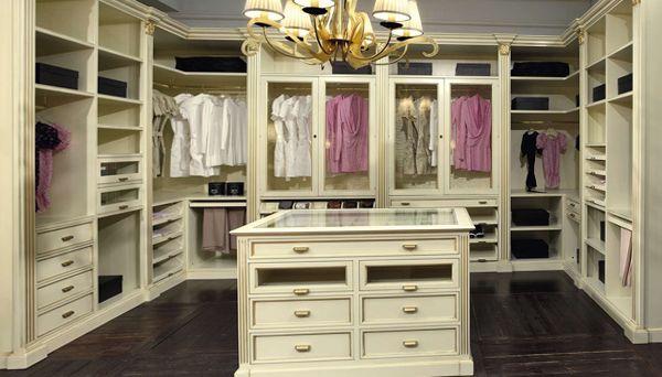 варианты гардеробных комнат фото