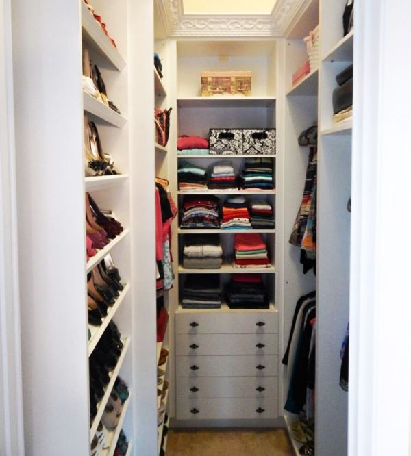 гардеробная комната своими руками из кладовки фото